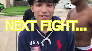 Put On The Gloves Houston/Cypress Edition (3 KOs) THE COPS PULLED UP ON US! *Hilarious*
