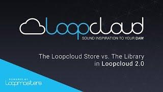 Loopcloud 20 Tutorial | The Loopcloud Store vs The Library