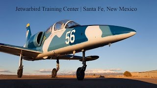 Jet Warbird Training Center Flight in the Fouga Santa Fe New Mexico