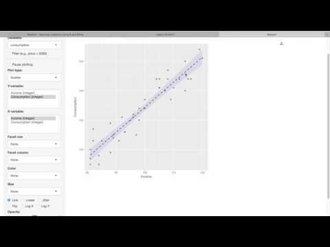 Radiant Tutorial: Simple Linear Regression