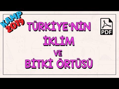 Türkiye'nin İklim ve Bitki Örtüsü   Kamp2019