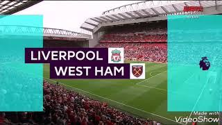 Liverpool 4x0 West Ham - Gols - Campeonato Inglês 2018/2019 - Rodada 1