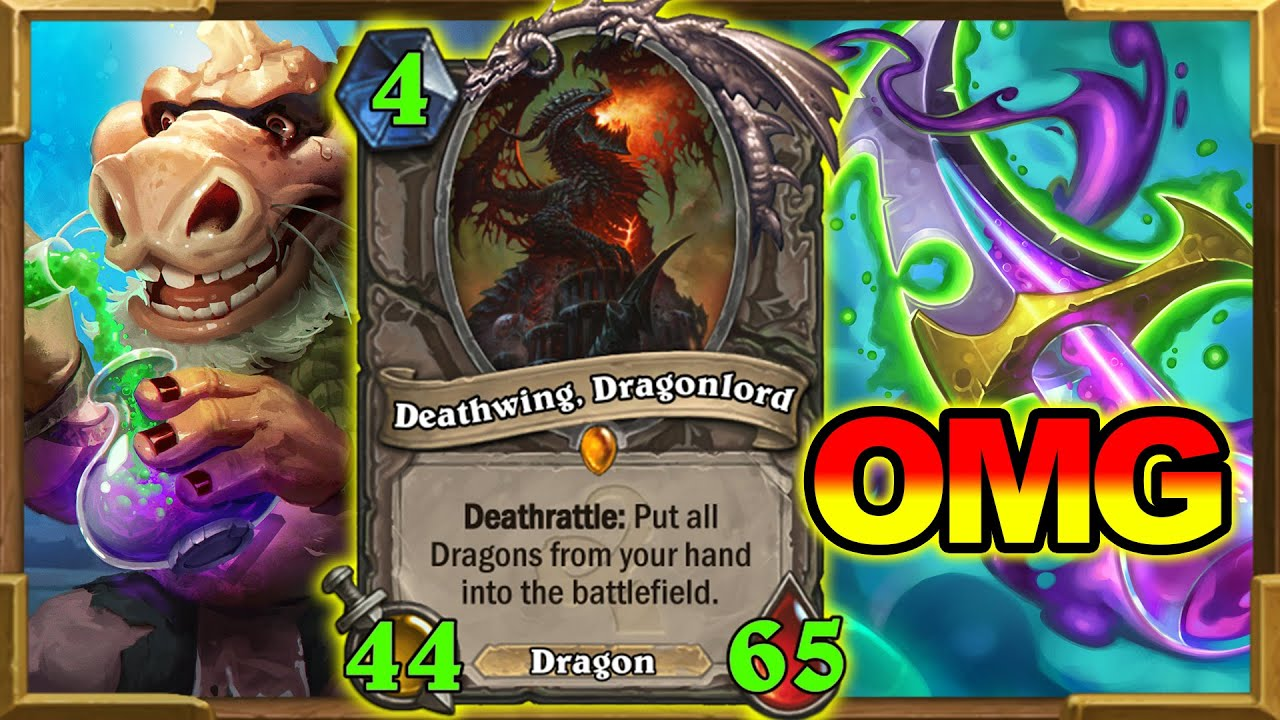 Turn 4 44/65 Dragons   59 Mana Used On Turn 4! This Deck Is Unbelievable   Rogue   Hearthstone