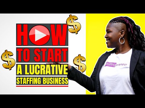 Tutorial: Six Figure Staffing Sneak Peak - How To Start A Lucrative Staffing Business