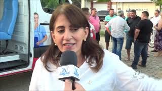 Eliete Fernandes anuncia a inauguração da nova creche de Quixeré