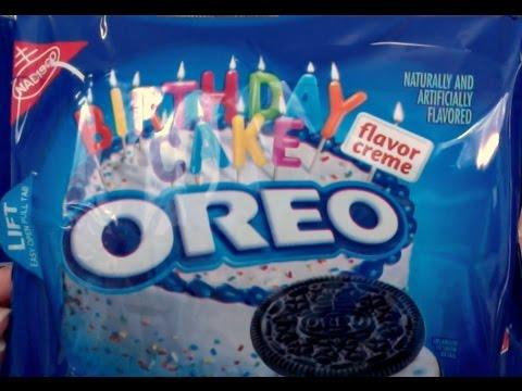 Birthday Cake Oreo Review And Taste Test YouTube