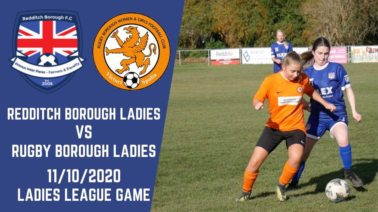 Redditch Borough vs Rugby Borough Women FC | Rugby Borough FC