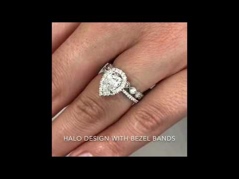 Wedding Band Style Guide: Pairing Your Halo Ring