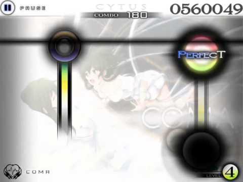 Cytus Gameplay - COMA(Easy) - 1000000