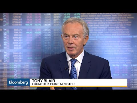 Tony Blair Sees Hard-Left Government Risk in Brexit