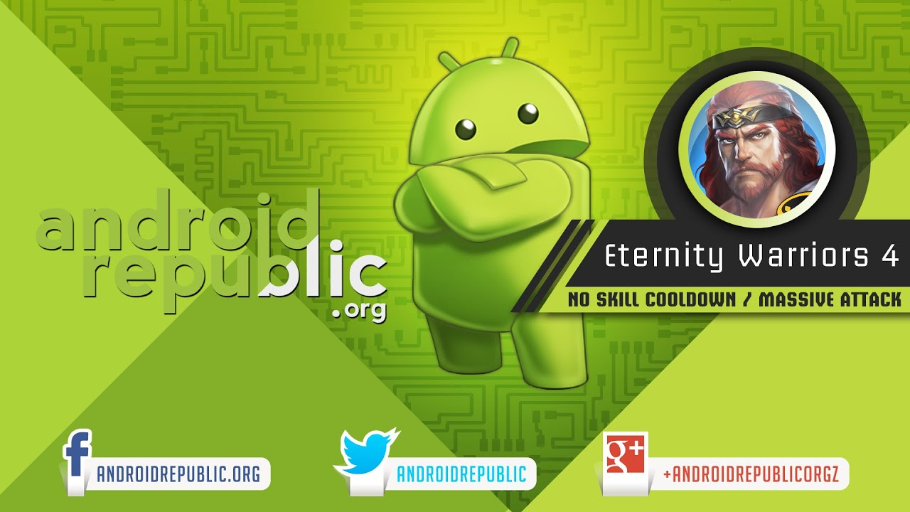 Eternity Warriors 4 Mod Apk Androidrepublic Org Youtube
