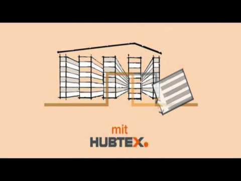 Оптимизация склада длинномеров с помощью погрузчиков HUBTEX