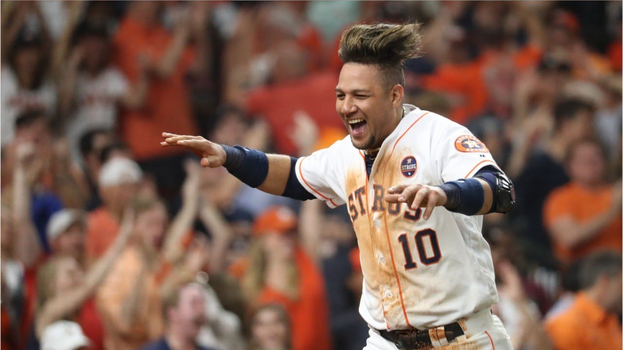 Dating houston astros player