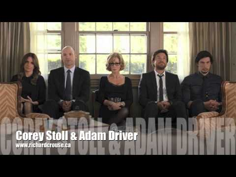 Corey Stoll & Adam Driver Roundtable for
