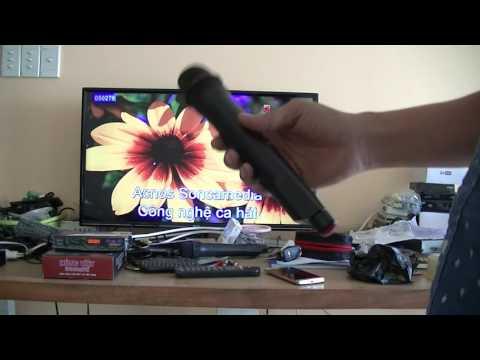 Hát karaoke trên đầu thu truyền hình số mặt đất DVB-T2 Hùng Việt