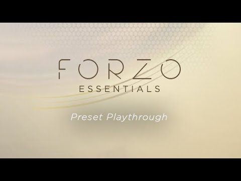 Heavyocity - FORZO Essentials - Preset Playthrough
