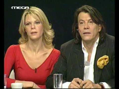 Greek pop idol - Sakis' girlfriend
