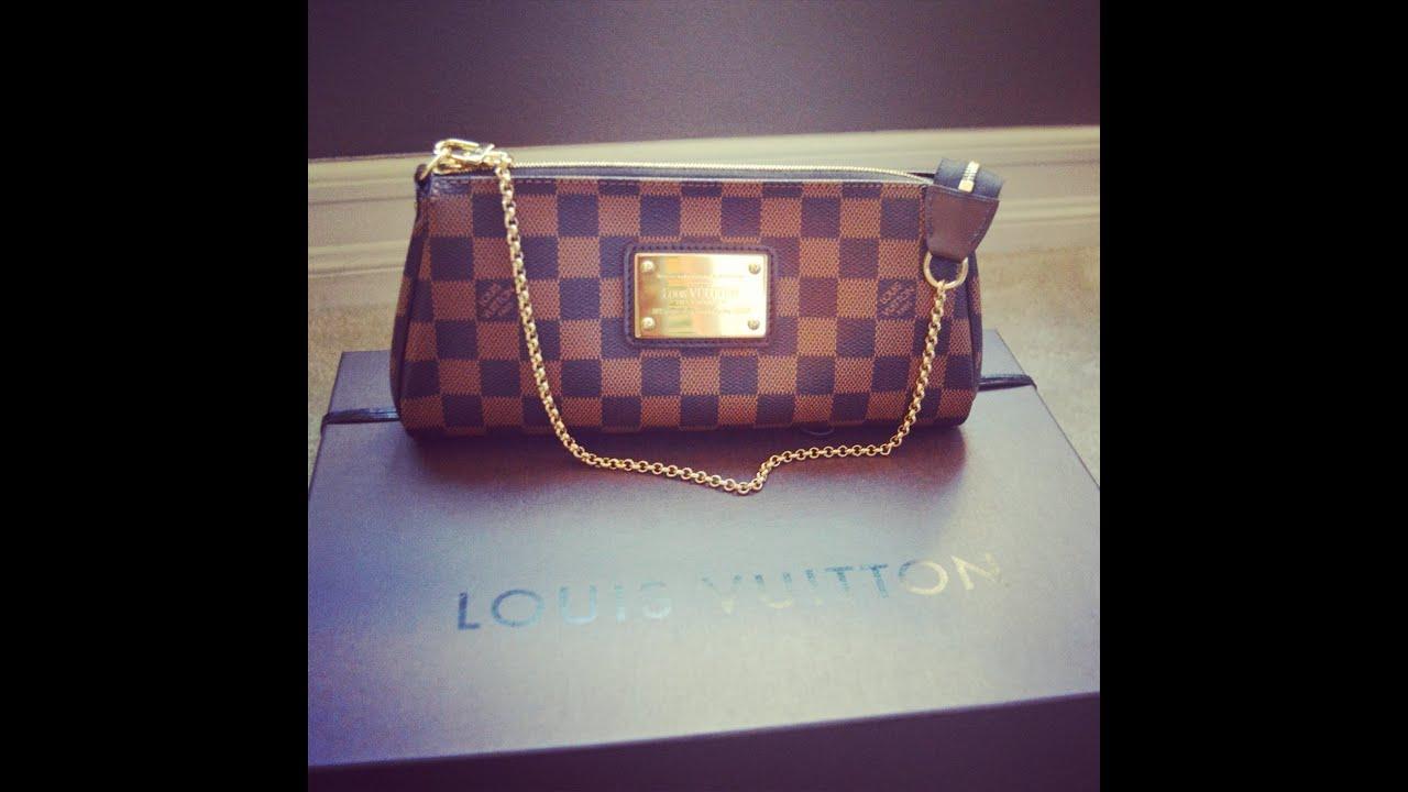 c2d5228c12ec Louis Vuitton Eva Clutch review Review: Louis Vuitton Eva Clutch Bag.
