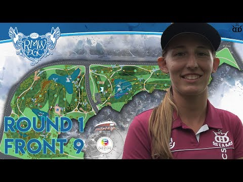 2017 Rocky Mountain Women's Championships  R1 Front 9 - Pierce, Diaz, Calabrese