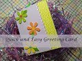 Quick and Easy DIY Greeting Card