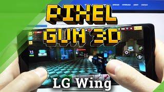 Jugabilidad de Pixel Gun 3D en LG WING - Prueba de eficiencia