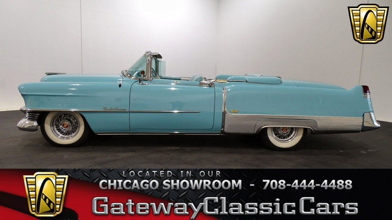 1954 Cadillac Eldorado Convertible Gateway Classic Cars Chicago     1954 Cadillac Eldorado Convertible Gateway Classic Cars Chicago  1108    YouTube