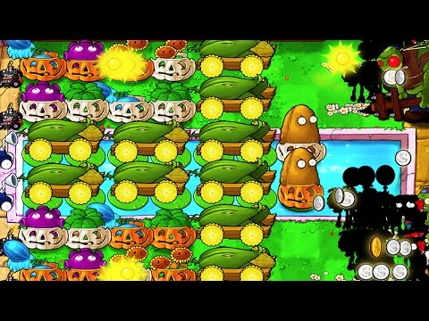 CORNCOB CANNONS ARE INSANE! - Plants VS Zombies | CRAZY STREAM