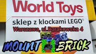 Mount Brick w WORLD TOYS Klocki LEGO Warszawa