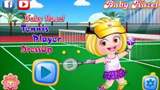 Tennis Player Dress Up Game | Fun Learning Game Videos By Baby Hazel Games