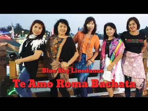 Te Amo Roma Bachata Line Dance (Buber Blue Sky Linedance)