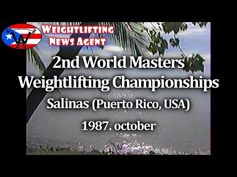 World Marters Weightlifting Championships | 1987