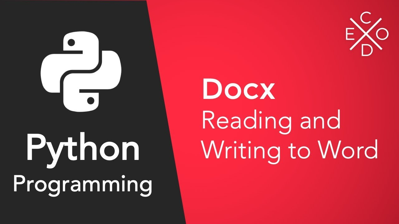 Advanced Python Programming: Reading and Writing to Documents with docx