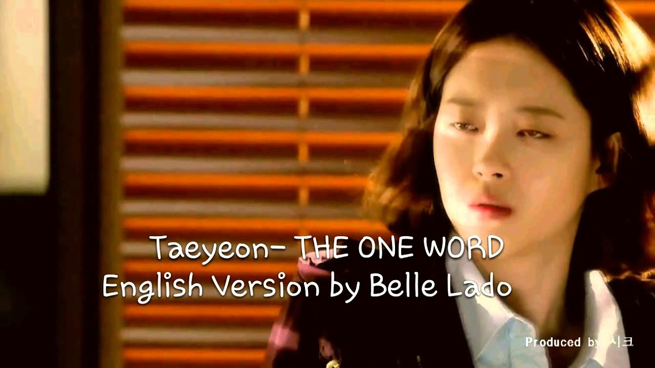 English Versiontaeyeon The One Word
