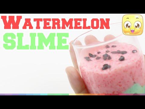 How to make liquid watermelon slime diy without borax by how to make liquid watermelon slime diy without borax by jellyrainbow ccuart Image collections