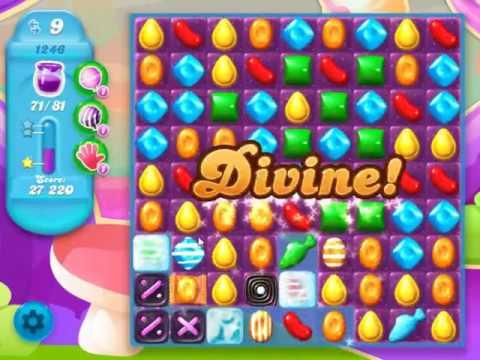 Candy Crush Soda Saga Level 1246 - NO BOOSTERS