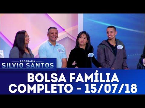 Bolsa Família - Completo | Programa Silvio Santos (15/07/18)