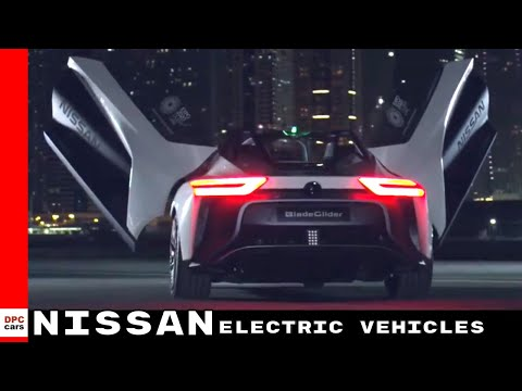 2018 Nissan Leaf & Electric Vehicles At Expo 2020 Dubai