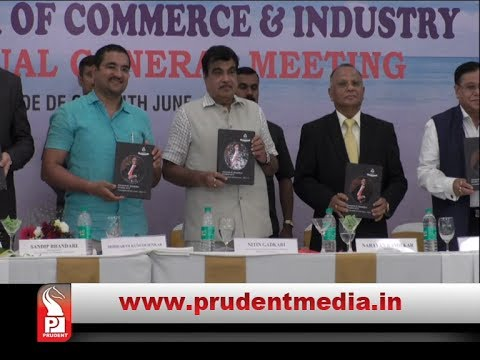 GADKARI CRITICIZES CAPTAIN OF PORTS FOR NOT PERMITTING PORT RELATED PROJECTS│Prudent Media