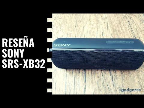 Reseña altavoz Sony SRS-XB32 (Review en español)