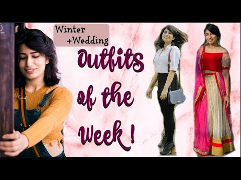 [VIDEO] - Outfits of the Week ( Winter Edition) ❄️ || Isheeta || Winter Lookbook 1