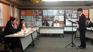 中華民國紅十字會第十屆國際人道法模擬法庭-決賽2