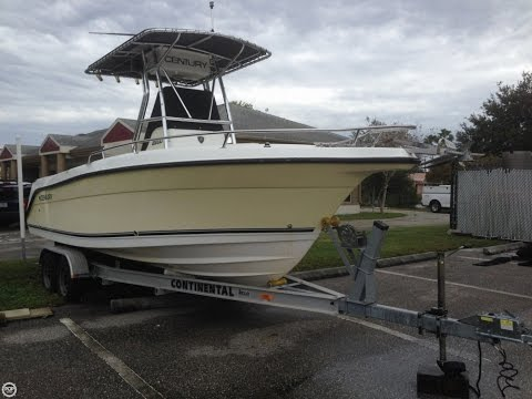 [SOLD] Used 2005 Century 2200 Center Console In Sarasota, Florida