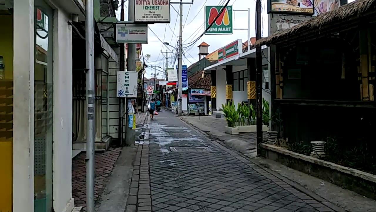Poppies Lane Kuta Bali Morning