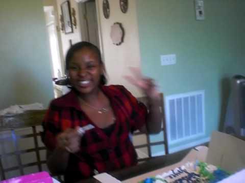 Singing Happy Birthday To Joyce... Ghetto Style
