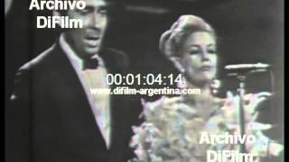 DiFilm - Antonio Prieto junto a Beatriz Taibo cantan Desesperadamente 1966