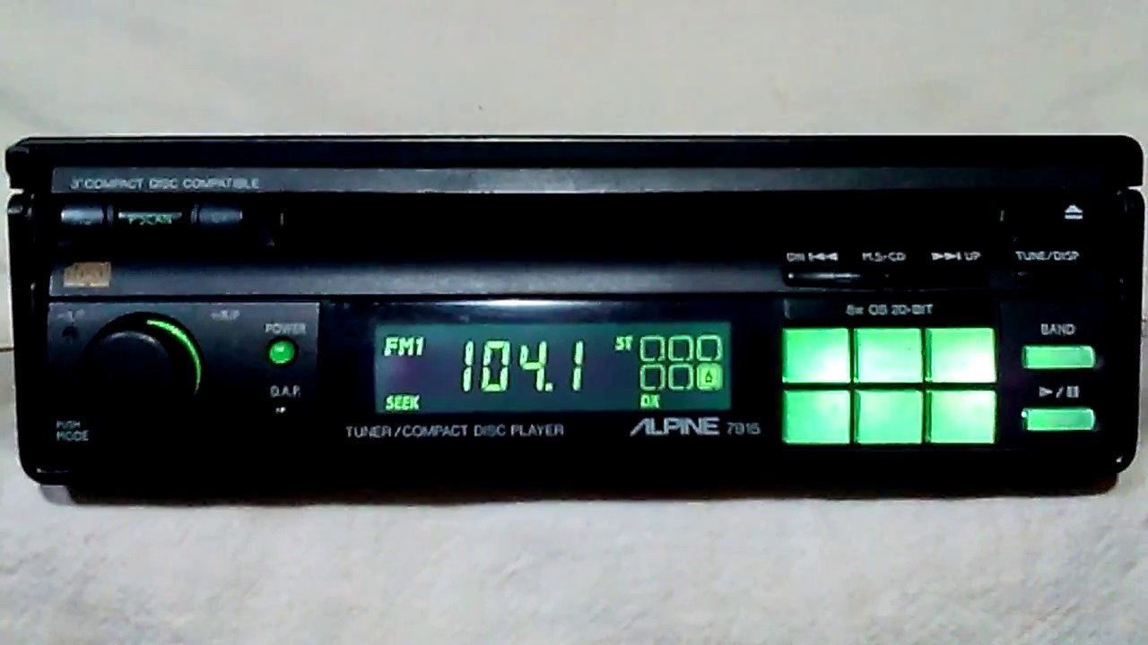 Old Pioneer Car Stereo For Sale