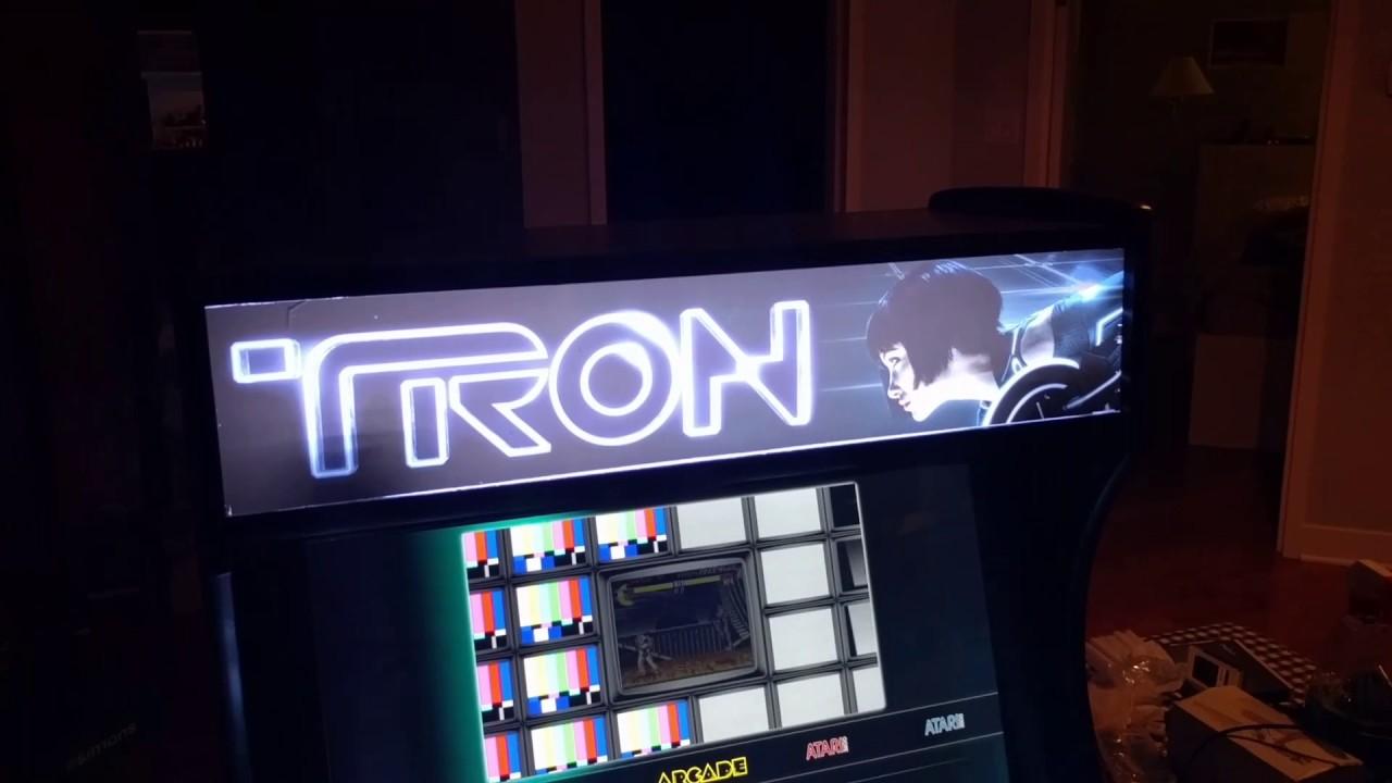 Tron arcade preview launchbox/bigbox 7 0 LedBlinky and RGB buttons and  joysticks