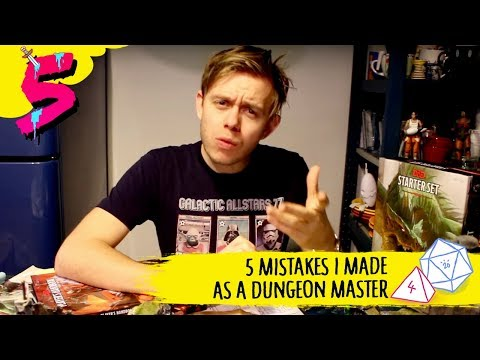 5 Mistakes I Made As A Dungeon Master