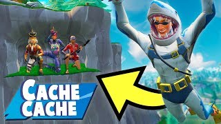 UNE CACHETTE INTROUVABLE !! (cache cache fortnite)