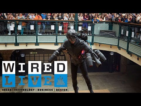 How the Real-Life Iron Man Richard Browning Created his own Jet Pack | WIRED Live